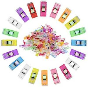 50/100/200PCS Clover Wonder Clip for Crafts Quilting Sewing Knitting Crochet UK*