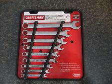 "Craftsman 47044 9 pc. 12 pt. Combination Wrench Set 1/4"" to 3/4"" W/Storage Rack"