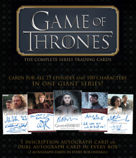 Game of Thrones The Complete Series All 13 Limited + Common Autograph Cards