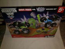 K'Nex Monster Jam Grave Digger vs. Son-uva Digger Building Set 128 pcs new 57148