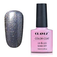 CLAVUZ UK Gel Nail Polish Soak Off UV LED 10mL Top Base Coat Classic UK STOCK