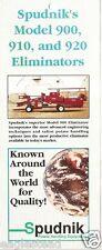 Farm Equipment Brochure - Spudnik - Potato Handling - 10 items (F2241)