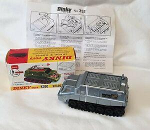 Gerry Anderson's UFO Shado 2 Mobile. Dinky No 353. Restored