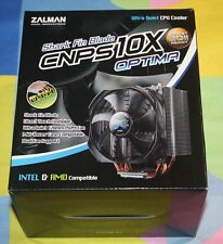 NEW ZALMAN CNPS10X OPTIMA 120mm Fluid Shield Bearing Shark's Fin Blade CPUCooler