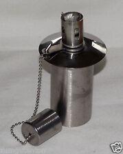 Ölbehälter aus Edelstahl für Öllampen Töpfern 65 ccm