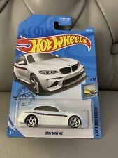 NEW 2019 Hot Wheels '16 BMW M2  White Diecast Car - FACTORY FRESH