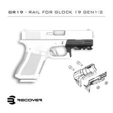 Recover Tactical Glock 19 & 23 Picatinny Rail Adapter - GR19 (GEN 1-2)