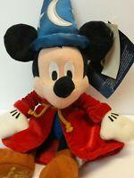 Mickey Mouse Sorcerer Fantasia 2000 Plush Stuffed Animal