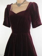 Velvet Party Plus Size Vintage Clothing for Women