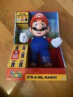 Nintendo Super Mario Its A Me Figure, Mario Motion Activated Sound Interactive