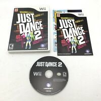 Just Dance 2 (Nintendo Wii, 2010) Complete, Tested & Working