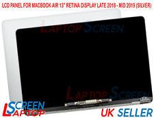 Ricambio MVFH2LL/A Macbook Air A1932 Schermo Completo LCD Gruppo 2019 Argento