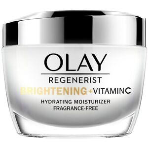 Olay Regenerist Brightening+vitamin C Hydrating Moisturizer 1.7oz FAST FREE SHIP