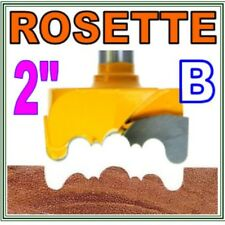 "1pc 1/2"" Shank 2"" Cutting Diameter Rosette Cutter B bit sct 888"