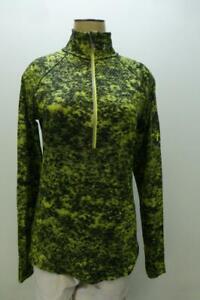 UNDER ARMOUR All Seasons Gear 1/2 zip running activewear top Shirt womens Medium