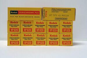 Lot pellicules 620 kodak verichrome pan