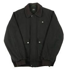 VGC Vintage LACOSTE Wool Jacket | Men's M | Retro Bomber Harrington Coat Woolen