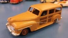 Dinky Toys Vintage Plymouth Estate Woody Wagon Car #344 1:43 Loose Car, As Is