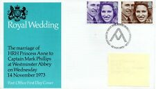 GB - FIRST DAY COVER - FDC - COMMEMS -1973- ROYAL WEDDING - Pmk PB
