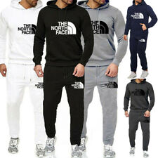 Men Hoodie Bottoms Full Tracksuit Set Joggers Pants Jogging Sweater Pullover Top