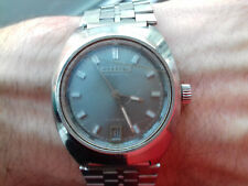 Citizen VINTAGE AUTOMATIC WATCH 4-600011 TA MADE IN JAPAN + CASIO STRAP MONTRE