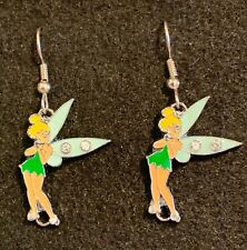 TINKERBELL Earrings Disney Tink Fairy Friends Stainless New Wishes