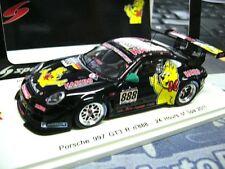 Porsche 911 997 gt3 R Haribo 24 H Spa 2011 Mathey #888 Menzel 1/750 Spark 1:43