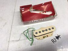 "Vintage Schaller Telecaster T6 Bridge Lead Pickup Cream Alnico Hot 1/4"" Poles"
