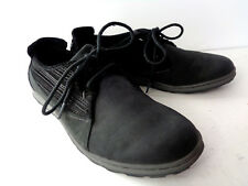 MERRELL Ashland Tie US 9M Black Nucuck & Suede Lace Up Walking Shoes