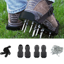 29 x13cm Spikes Pair Lawn Garden Grass Aerator Aerating Sandals Shoes Durable UK