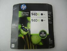 HP 940XL Black Ink Cartridges 2 Pack NEW!!
