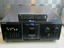 Sony CDP-CX335 Top 300 er CD-Wechsler! CD-Player mit Original Fernbedienung!