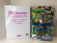 Playmates Teenage Mutant Ninja Turtles Metal Mutant Leonardo Figure Exclusive
