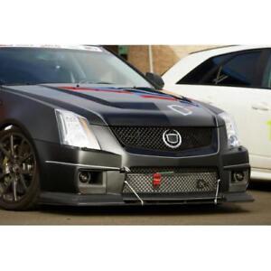 APR Performance Carbon Fiber Front Wind Splitter & Rods for Cadillac CTS-V 09-14