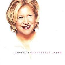 All The Best... Live by Sandi Patty (CD, Nov-2001, Word Distribution)