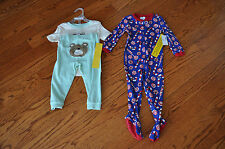 NWT!! Lot of 2 Boys THE CHILDREN'S PLACE 2 Piece Sleepwear ~SIZE 18-24 Months~