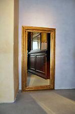 Barock Wandspiegel Zierspiegel Goldspiegel 61x 180 cm Gold elegant stilvoll neu