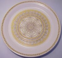 Franciscan Pottery Hacienda Gold Dinner Plate