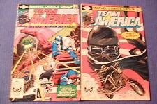 Marvel Comic Books Team America