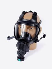 Gr.M Belg. Gasmaske BEM 4 GP Schutzmaske Fetisch Latexmaske Atemschutz ABC Maske