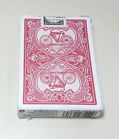 Bicycle Auto Bike No. 1 2016 Reproduction Deck of Red Playing Cards ~ No Jokers