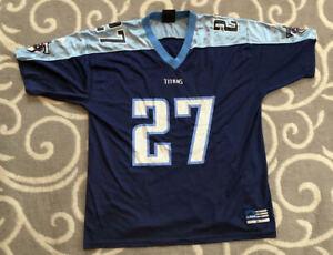 Vintage Eddie George Tennessee Titans Adidas NFL Football Jersey Size XL