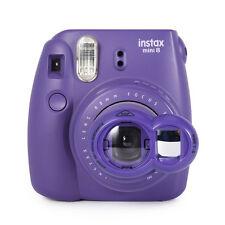 Close Up Lens+Selfie Mirror for Fujifilm Instax Mini 8 7s Polaroid 300 - Purple