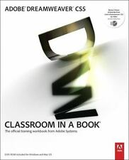 Adobe Dreamweaver CS5 Classroom in a Book, Adobe Creative Team,0321701771, Book,