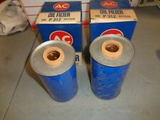New ListingNos new Ac Oil Filters P-312 John Deere Parts (2) Series 50-60-70 & Other 51148