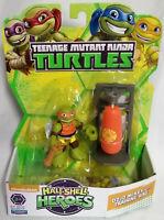 Dojo Michelangelo e Pungiball Tartarughe Ninja Turtles Action 6 cm