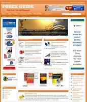 FOREX TRADING - PROFESSIONAL DESIGNED NICHE WEBSITE WITH INTEGRATED STORE