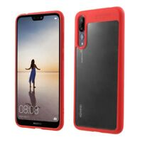 Ultra Slim Case For Huawei P20 Pro Cover Protection Cover Red