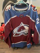 Adidas Nathan MacKinnon Colorado Avalanche Authentic Nhl Hockey Jersey Size 54