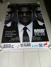 AFFICHE MEN IN BLACK 3 Will Smith 4x6 ft Bus Shelter Poster Original 2012